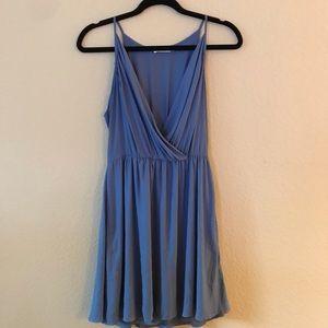 Lush Periwinkle Halter Dress